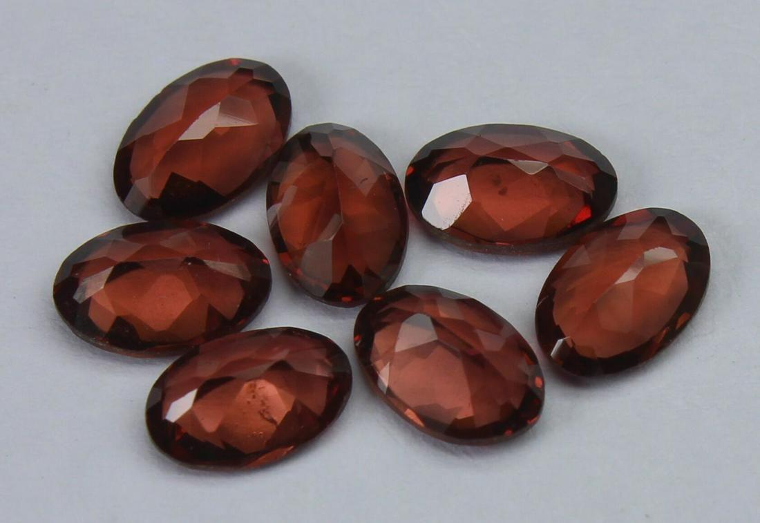 3.67 Ct Natural Rhodolite Garnet Lot