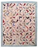 Handmade vintage American hooked rug 10.7' x 14' (