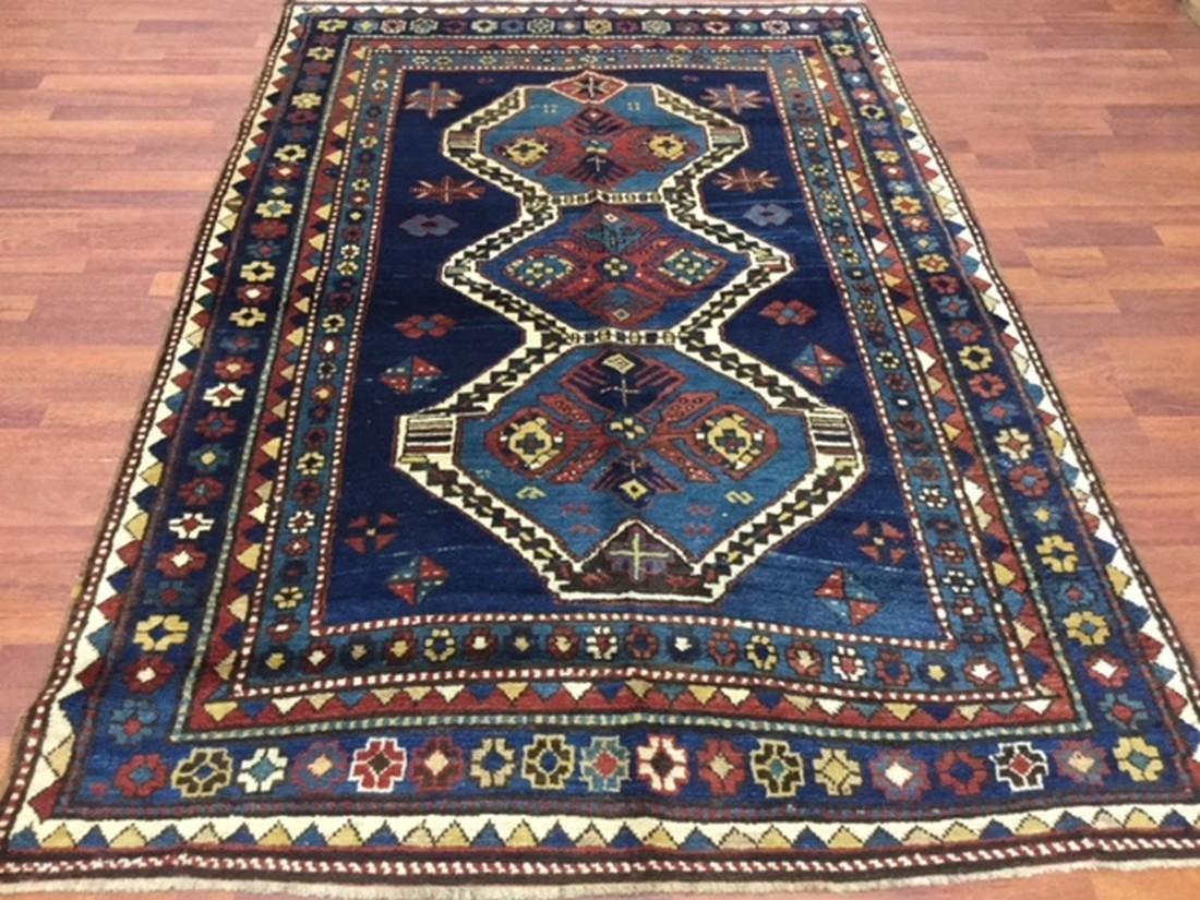 Antique Kazak Caucasian Rug-3061