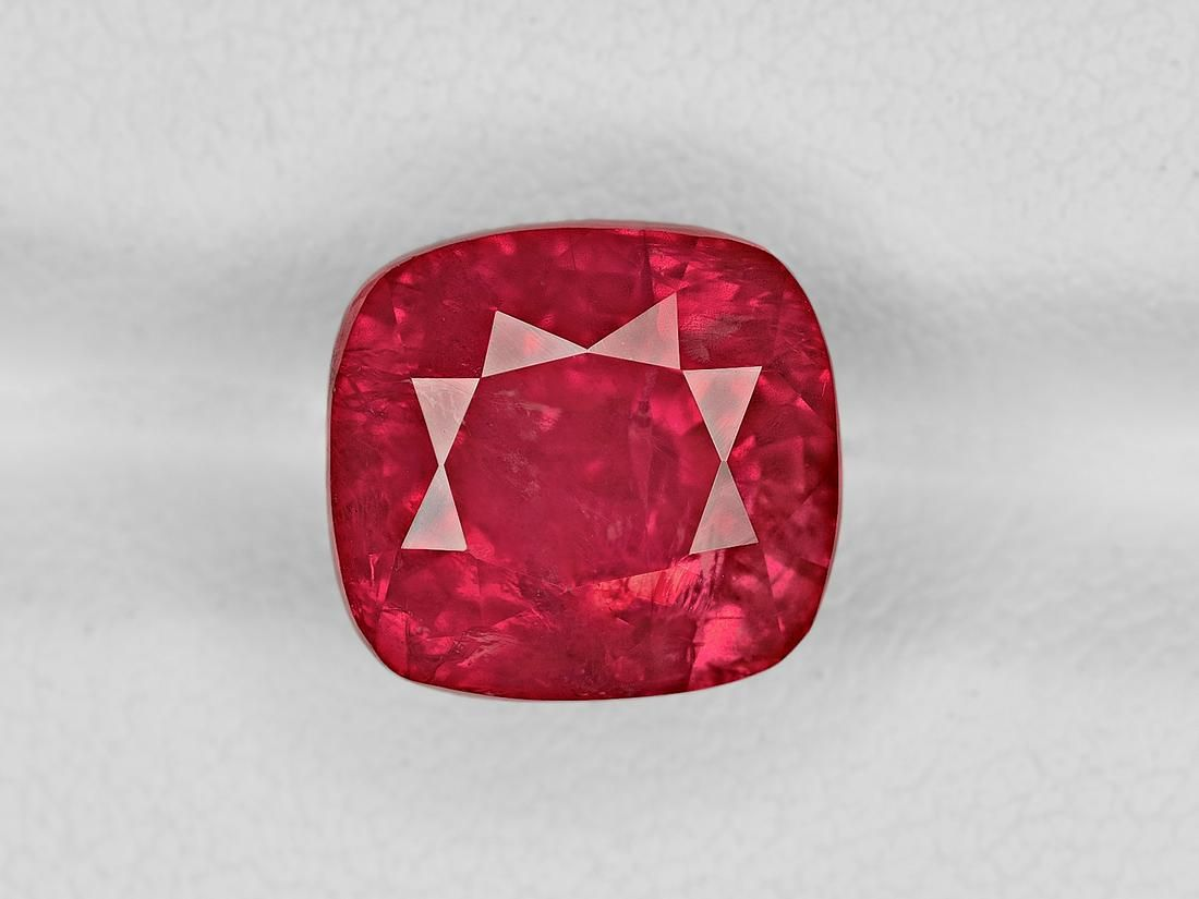 Ruby, 7.54ct, Mined in Tanzania, Certified by GRS