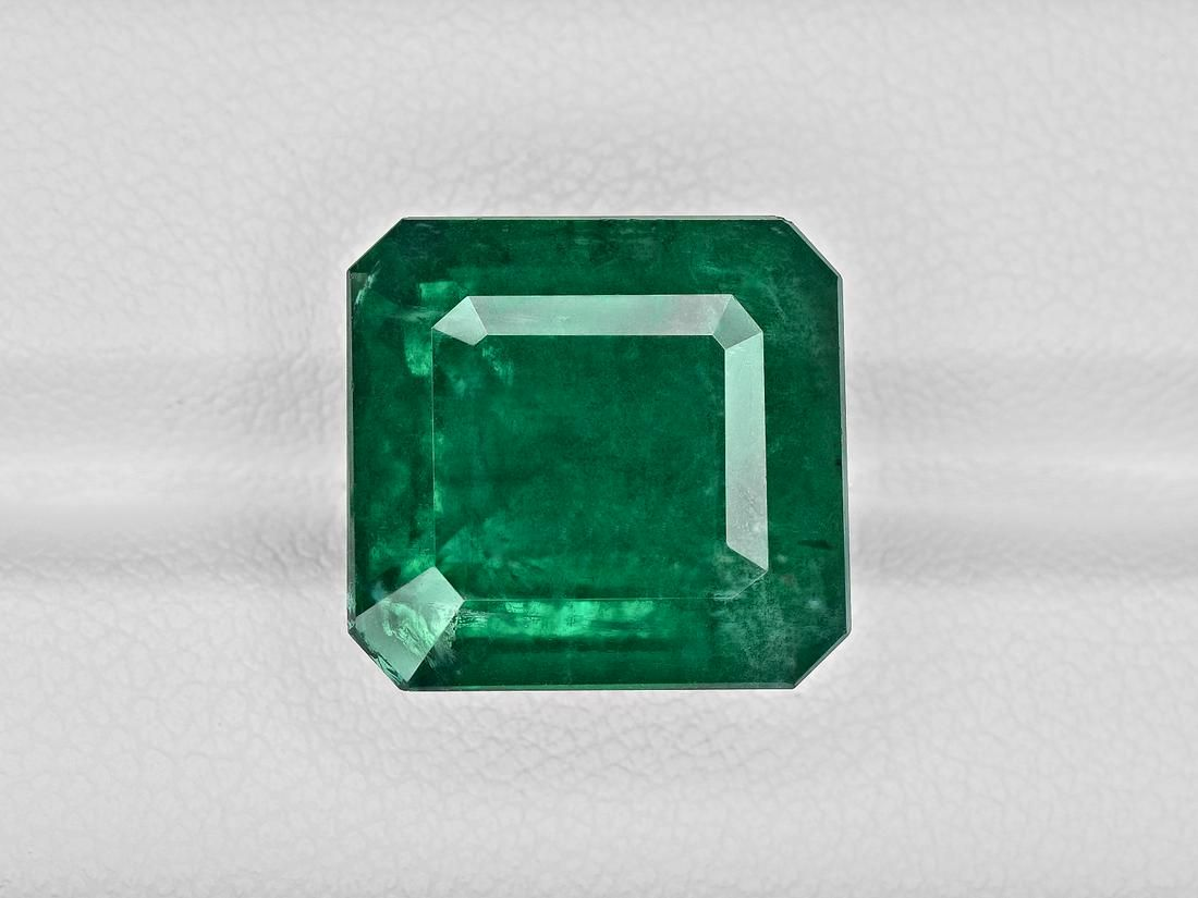 Emerald, 15.83ct, Mined in Zambia, Certified by GRS