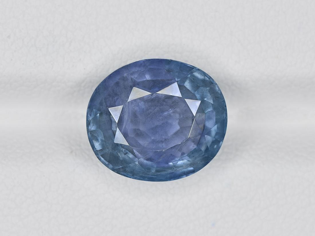 Blue Sapphire, 6.73ct, Mined in Burma, Certified by IGI