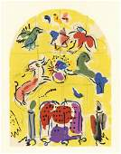 "Marc Chagall ""Tribe of Levi"" Jerusalem Windows"