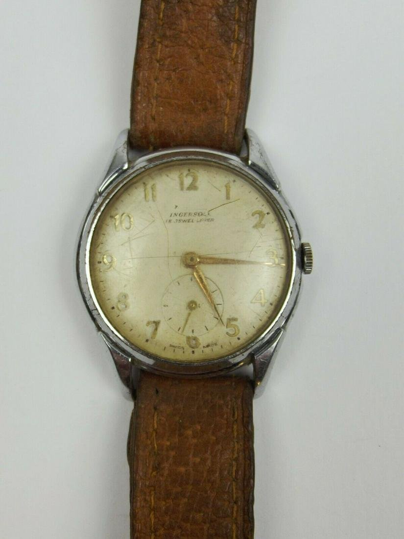 Ingersoll Chrome Plated Wristwatch