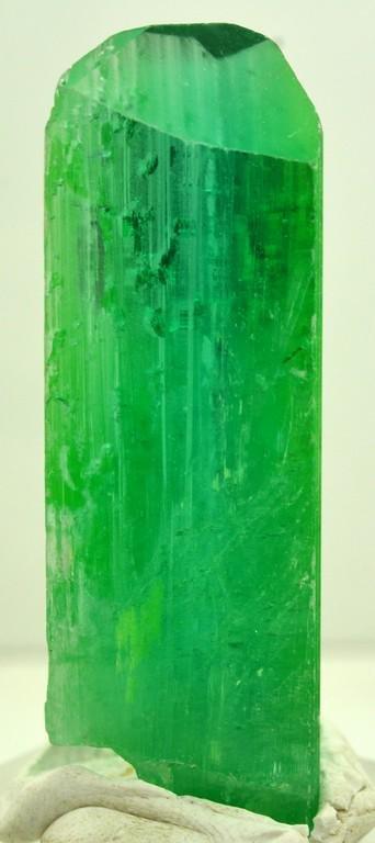 31 Grams Lush Green Terminated Kunzite Crystal