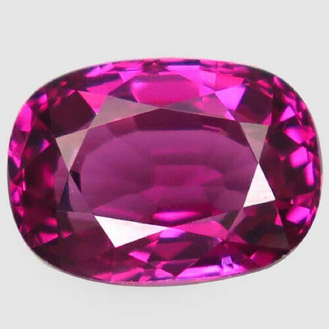 3,23 ct Natural Rhodolite Garnet Pink Purple-3,23 ct