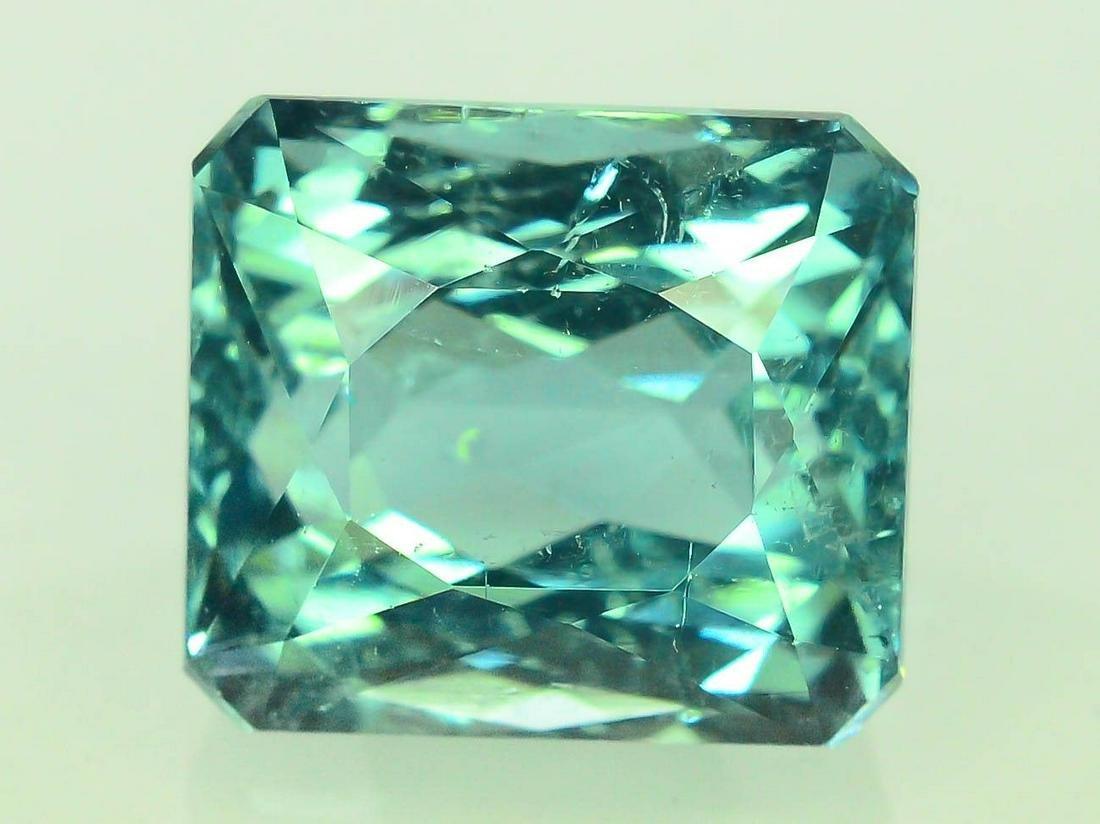 Certified 6.0 cts Untreated Blue Tourmaline Gemstone