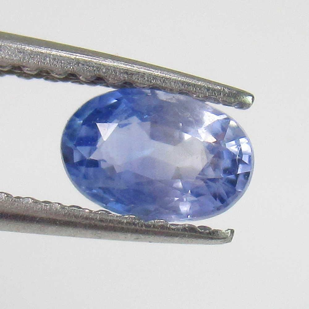 0.55 Ctw Natural Blue Sapphire Oval cut