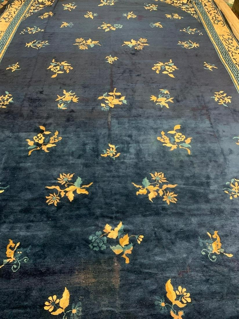 Antique Hand Woven Chinise Rug  18x11.10