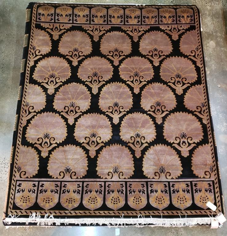 Indo Tibetian-wool-brown black