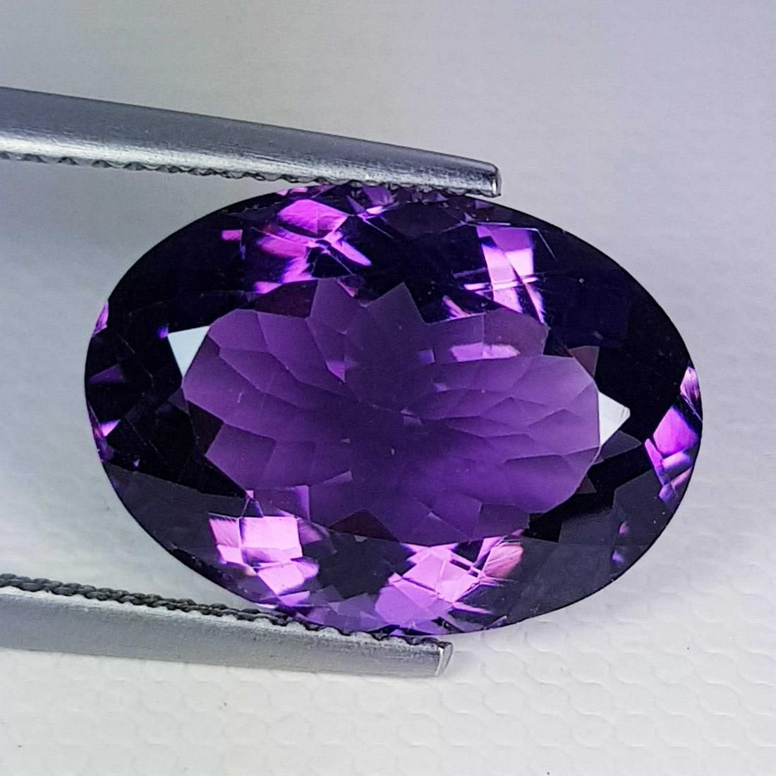 7.05 ct Natural Amethyst Oval Cut