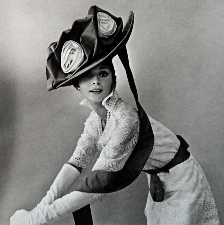 CECIL BEATON - Audrey Hepburn, My Fair Lady, Vogue 1963
