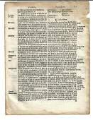 1559 English Law Leaf Elizabeth Henry VIII