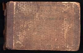 1st ed. 1832 shape-note book: Christian's Harp,