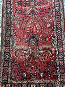 Vintage Hand Woven Persian Lilihan 12.7x2.6
