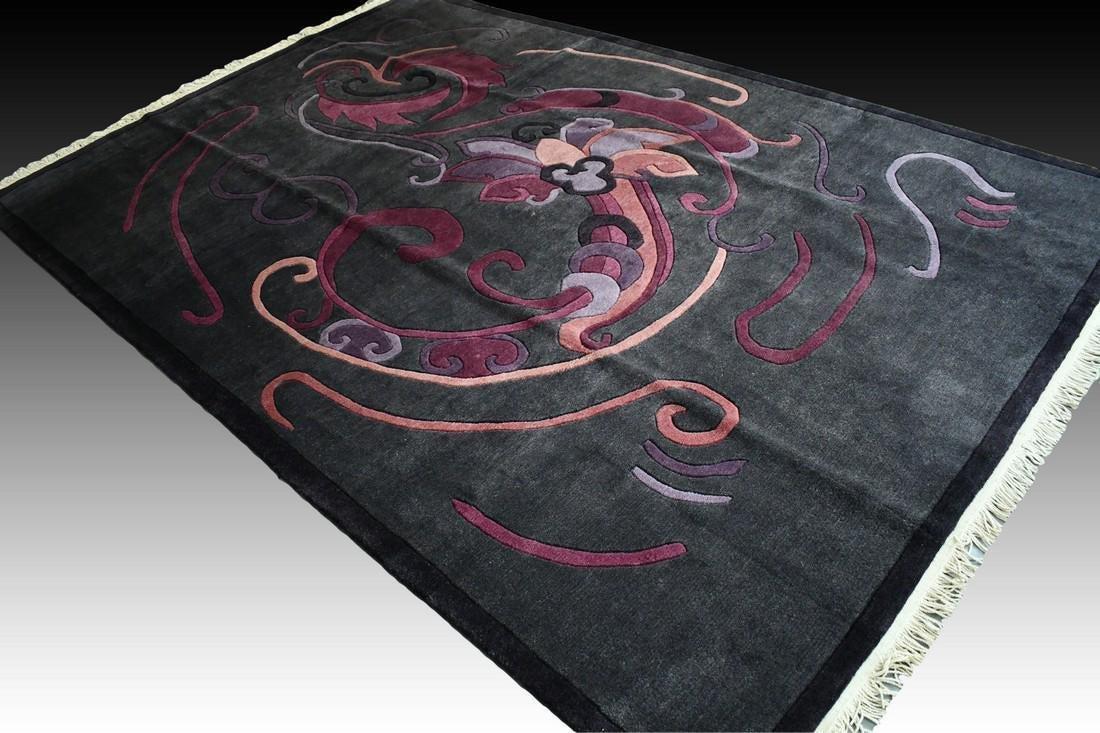Unused modern contemporary rug - 9.7 x 6.6