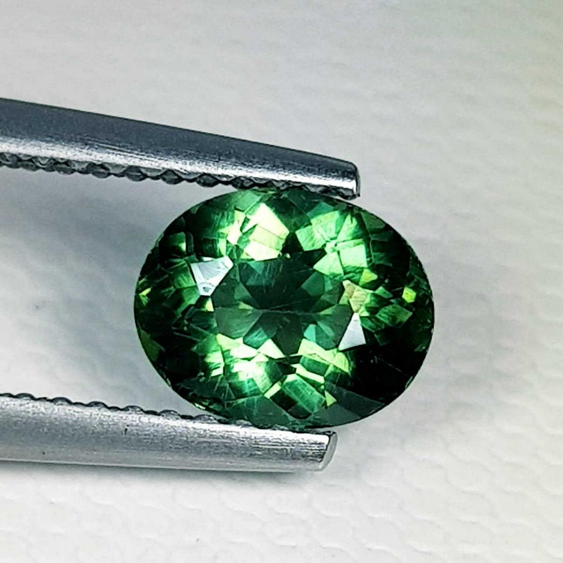 1.05 ct Natural Green Apatite Oval Cut