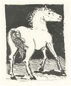 "Pablo Picasso ""Le Cheval"" The Horse   Buffon"