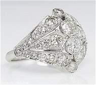 2.89ct Estate Vintage Round Diamond Anniversary Wedding