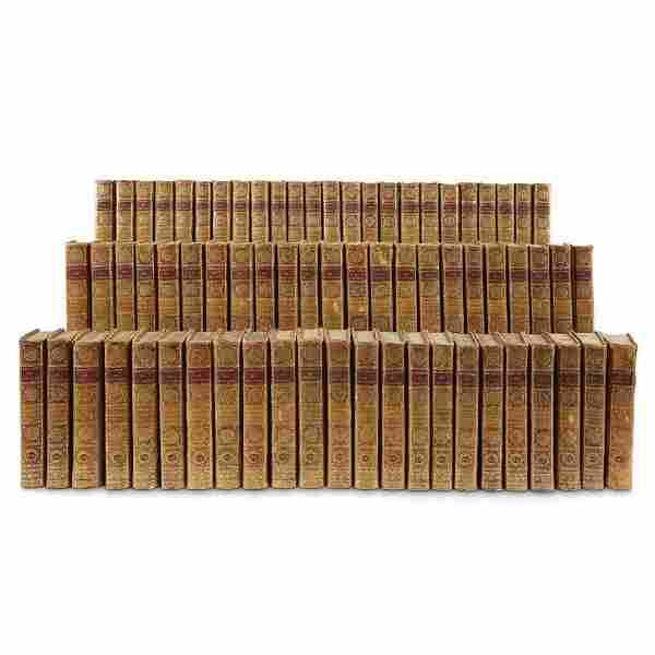 1785-1789 70 VOLUMES KEHL VOLTAIRE 18 Cent DECORATIVE