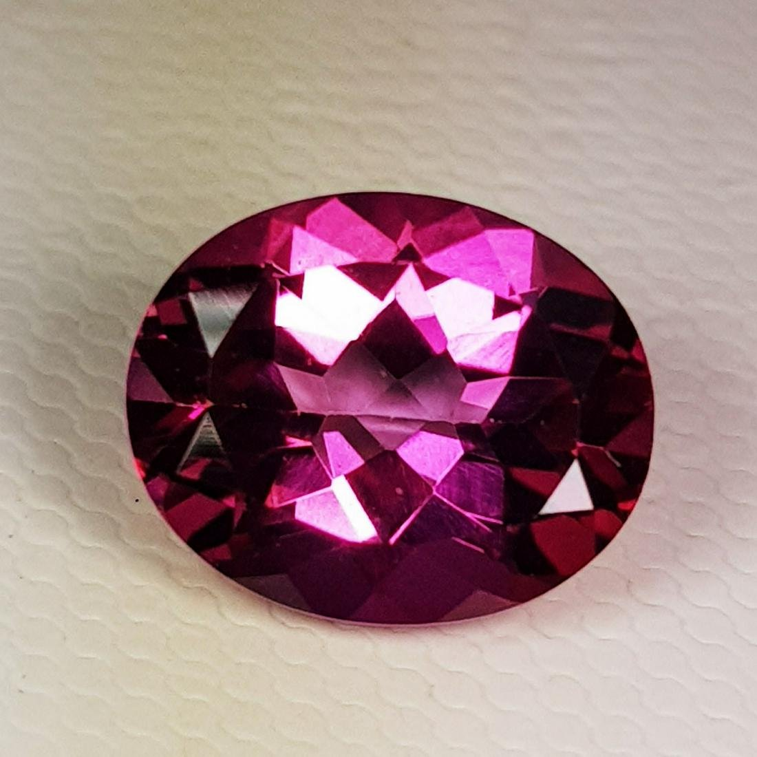 4.25 ct Natural Pink Topaz Oval Cut