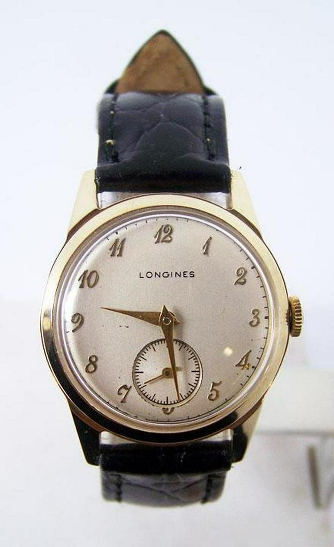 Solid 14k LONGINES Winding Watch c.1940s Cal.10L*