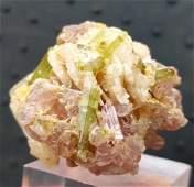 391 Grams Bunch of Tourmaline Crystals 41X38X34 mm
