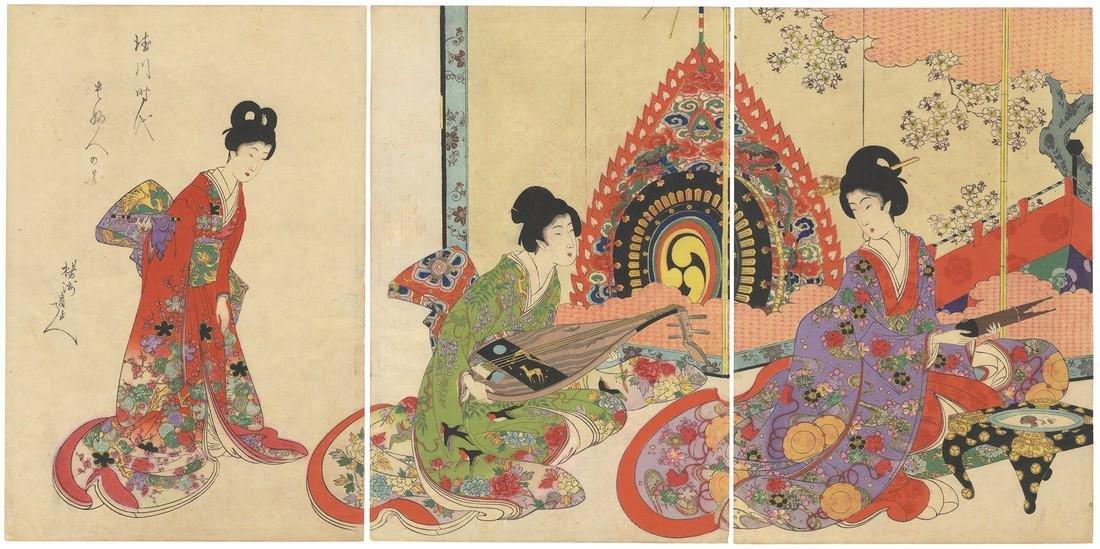 Chikanobu: Noble Ladies in the Tokugawa Era - Musical