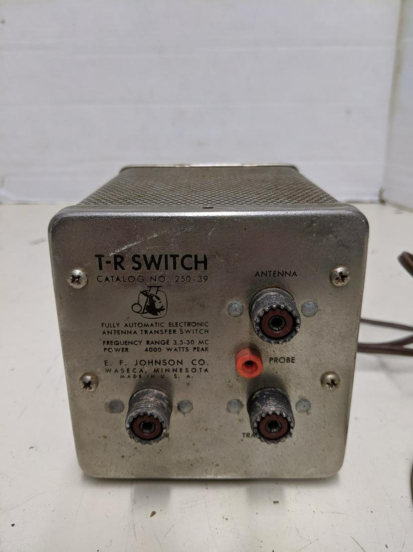 EF Johnson T-R Switch Catalog No. 250-39