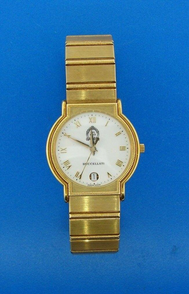 TIMELESS Mario Buccellati 18k Yellow Gold Watch