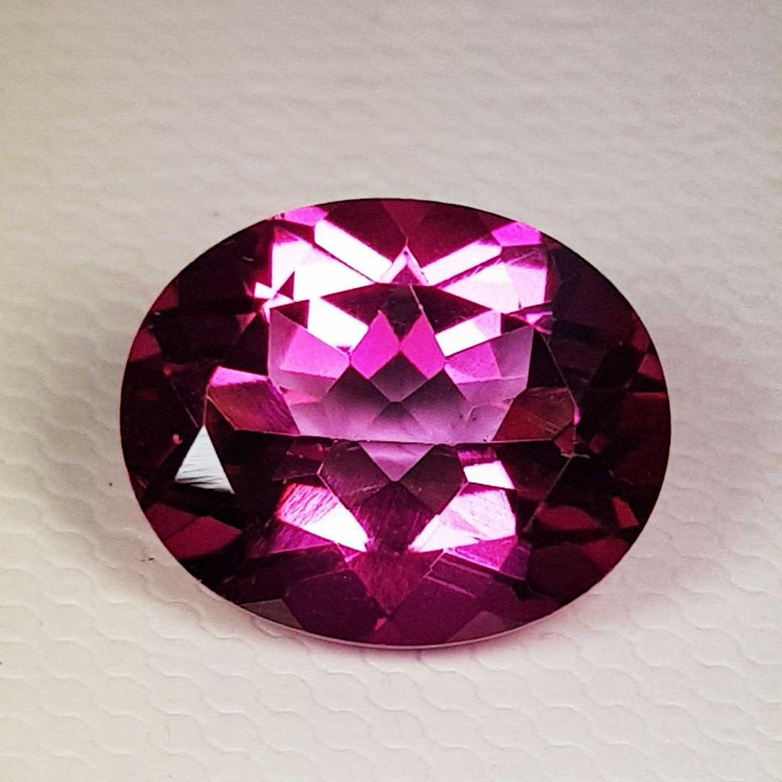 Natural Pink Topaz Oval Cut 4.40 ct