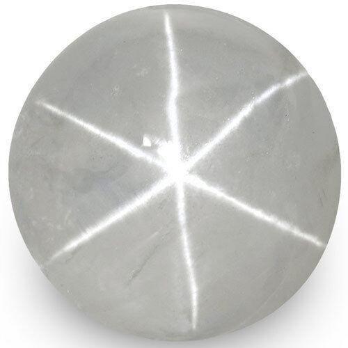 9.26-Carat 11mm Round Star Sapphire from Ceylon (Super