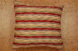 "Hand Made of kilim rug Pillow Cushion Rug 1'6"" x 1'7"""