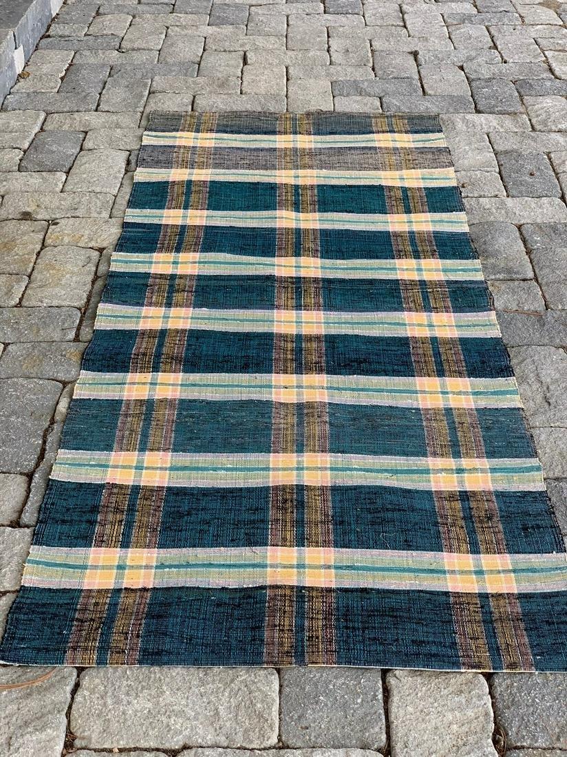Rag Carpet Strip (unused),  Early 20thC
