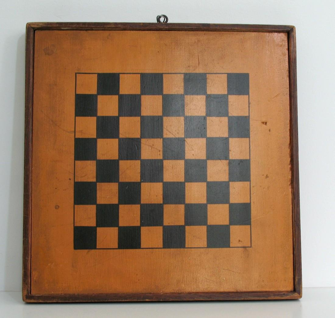 Early Two Sided Game Board