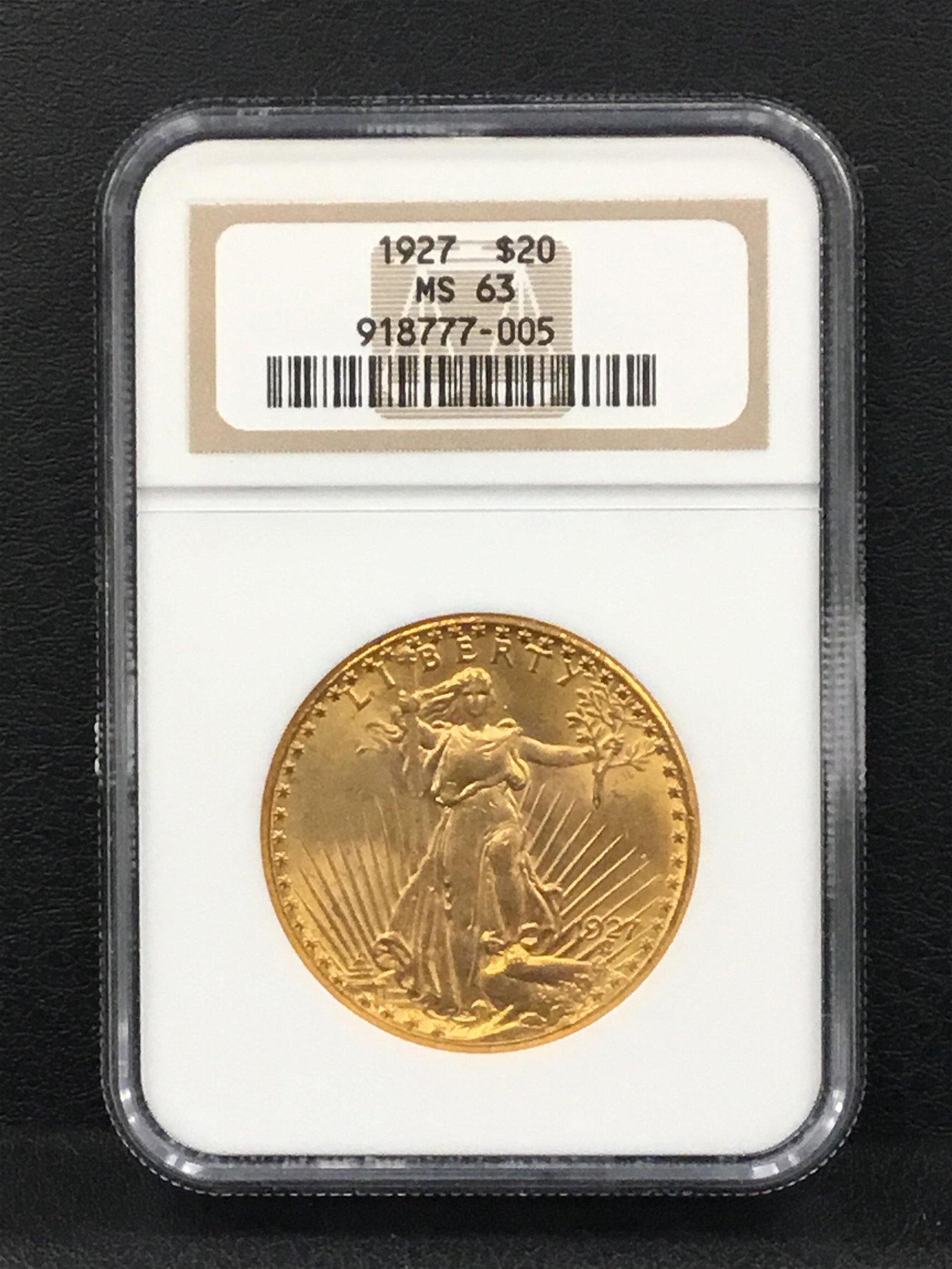 1927 Saint-Gaudens Double Eagle