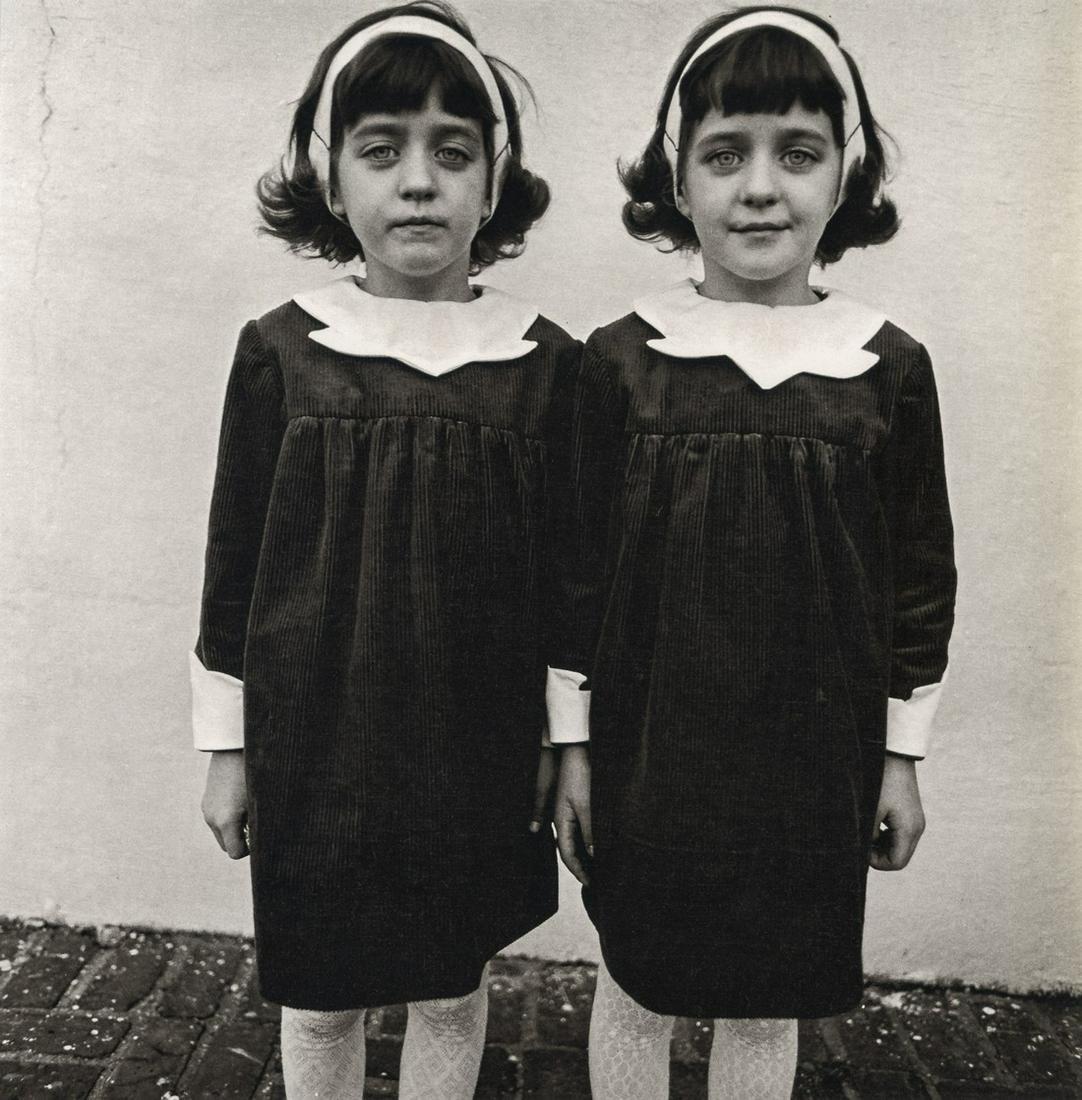DIANE ARBUS - Identical Twins, Roselle, NJ, 1967