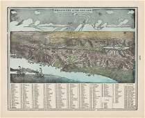Dramatic View of Holy Land, Geo. F. Cram