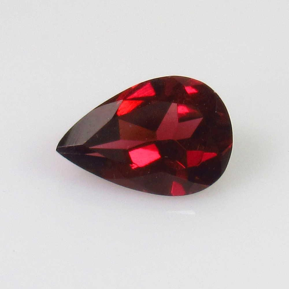 1.37 Ctw Natural Pink Rhodolite Garnet Pear Cut