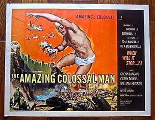 CUT 125 AMAZING COLOSSAL MAN 57 ROLLED 12 SH