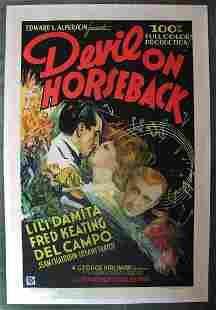 Devil on Horseback Grand National 1936 US One Sheet