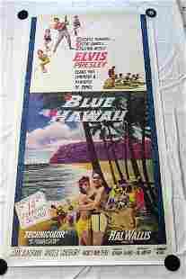 Elvis Blue Hawaii USA 1961 Three Sheet Movie Poster