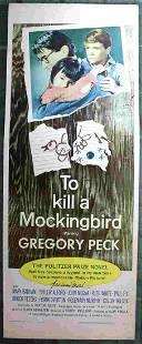 To Kill a Mockingbird Universal 1963 US Insert 14 x