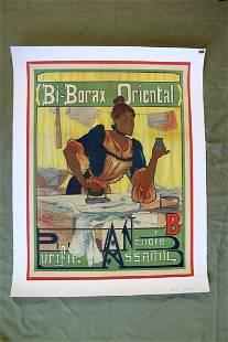 Bi Borax Oriental Art by Marcel Clement 1895 34 x