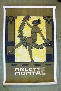 Arlette Montal Art by Edouard Alexandre Bernard