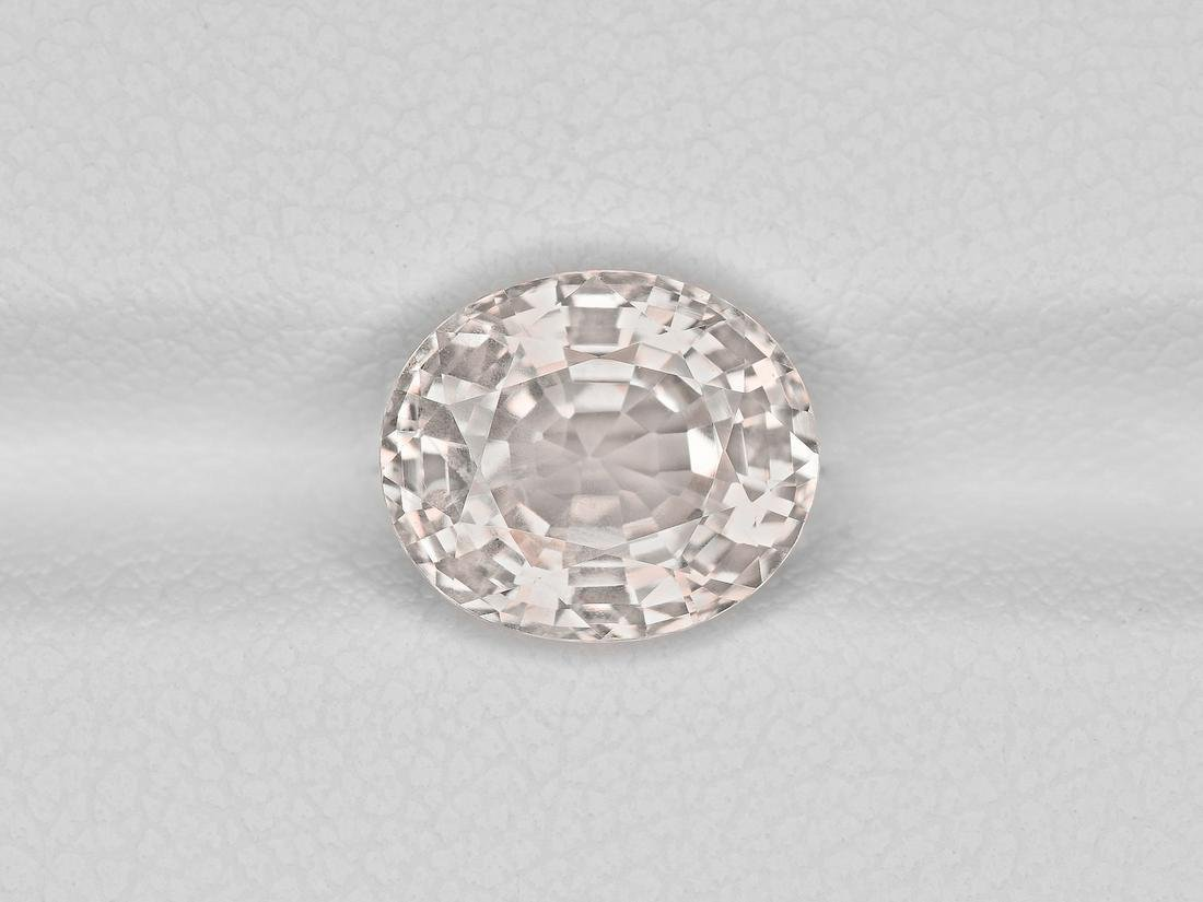 Colorless Sapphire, 3.23ct, Mined in Sri Lanka,