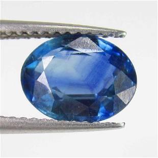 281 Ct Natural Kanchanaburi Blue Sapphire Oval Cut