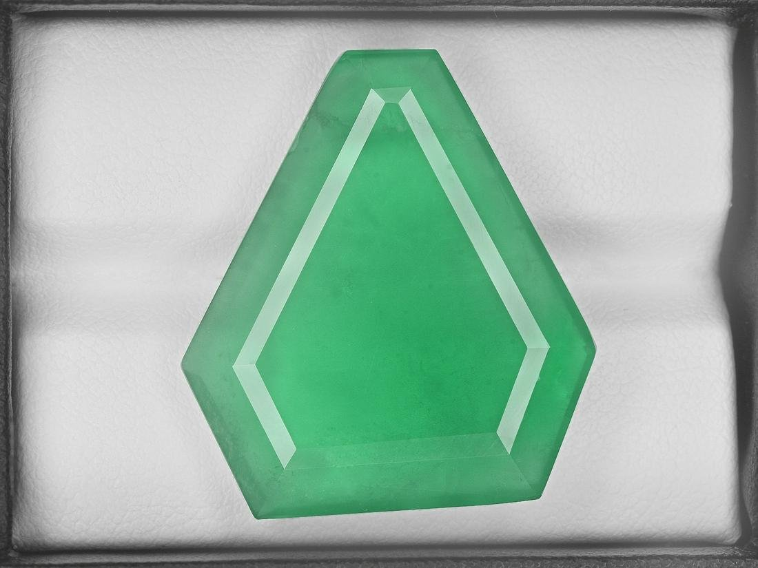 Emerald, 32.24ct, Mined in Zambia, Certified by GRS