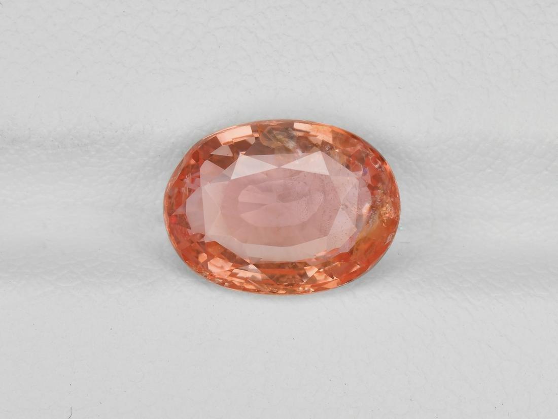 Padparadscha Sapphire, 3.78ct, Mined in Sri Lanka,