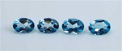 GGTI-Certified- 3.20 Cts Blue Topaz Gemstone Natural
